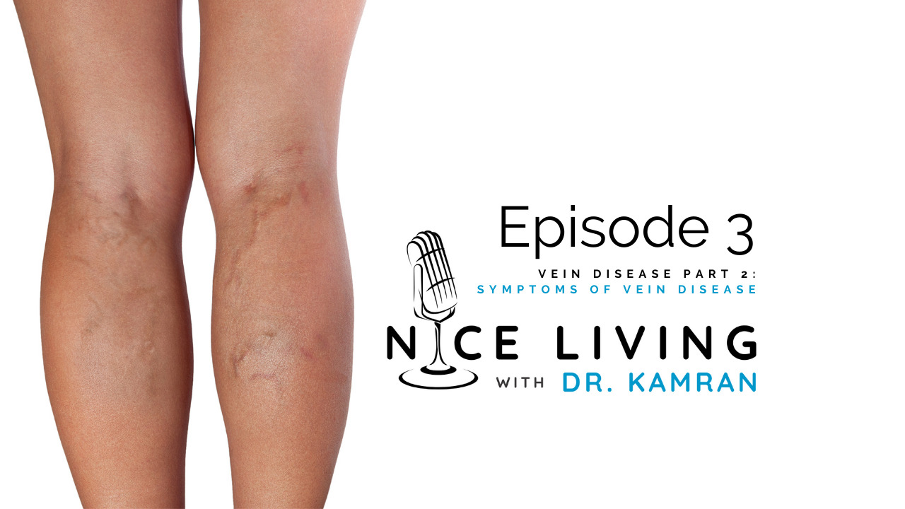What are the symptoms of vein disease?